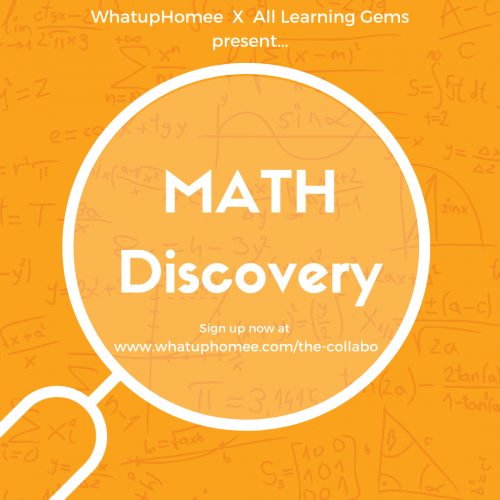 Math Discovery- WhatupHomee