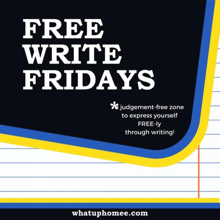 Free Write Fridays image (1)