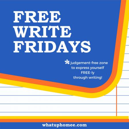 Free Write Fridays image
